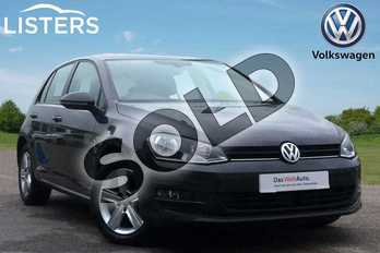 Volkswagen Golf Diesel 2.0 TDI Match Edition 5dr DSG in Urano Grey at Listers Volkswagen Loughborough