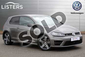 Volkswagen Golf 2.0 TSI R 3dr in Limestone Grey at Listers Volkswagen Nuneaton