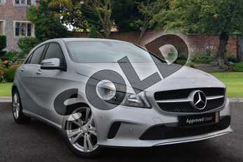 Mercedes-Benz A Class Diesel A180d Sport Executive 5dr in Polar Silver at Mercedes-Benz of Lincoln