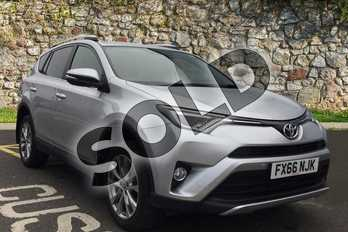 Toyota RAV4 Diesel 2.0 D-4D Excel 5dr 2WD in Tyrol Silver at Listers Toyota Boston