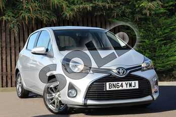 Toyota Yaris 1.33 VVT-i Icon 5dr in Silver at Listers Toyota Coventry