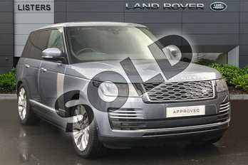 Range Rover 2.0 P400e Autobiography 4dr Auto in Byron Blue at Listers Land Rover Droitwich