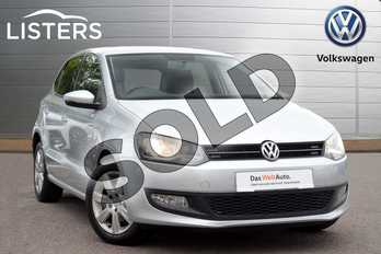 Volkswagen Polo 1.4 Match 5dr in Reflex silver at Listers Volkswagen Leamington Spa