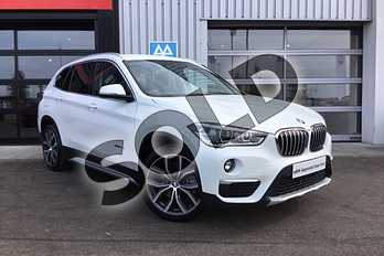 BMW X1 Diesel xDrive 20d xLine 5dr in Alpine White at Listers King's Lynn (BMW)