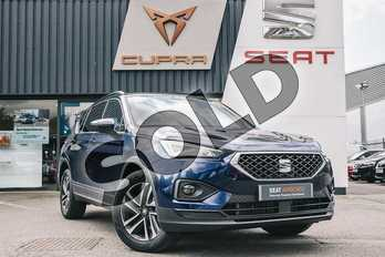 SEAT Tarraco 2.0 TDI SE Technology 5dr in Blue at Listers SEAT Coventry