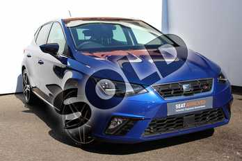SEAT Ibiza 1.0 TSI 95 FR 5dr in Blue at Listers SEAT Worcester