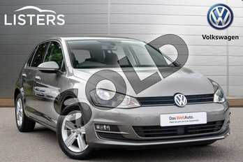 Volkswagen Golf Diesel 1.6 TDI 110 Match Edition 5dr DSG in Limestone Grey at Listers Volkswagen Coventry