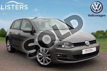 Volkswagen Golf Diesel 2.0 TDI GT 5dr DSG in Limestone Grey at Listers Volkswagen Loughborough