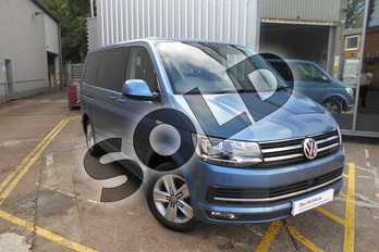 Volkswagen Caravelle Diesel 2.0 TDI BlueMotion Tech 150 Executive 5dr DSG in Acapulco Blue Metallic at Listers Volkswagen Van Centre Coventry