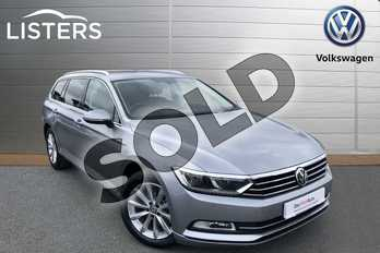 Volkswagen Passat Diesel 2.0 TDI SE Business 5dr DSG (7 Speed) in Pyrite Silver at Listers Volkswagen Worcester