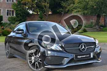 Mercedes-Benz C Class AMG C43 4Matic Premium 2dr Auto in Obsidian Black Metallic at Mercedes-Benz of Lincoln