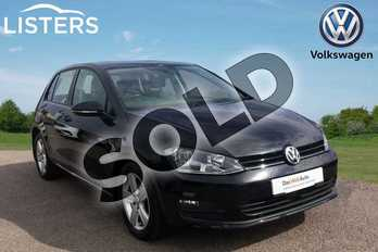 Volkswagen Golf 1.4 TSI 125 Match Edition 5dr in Deep black at Listers Volkswagen Loughborough