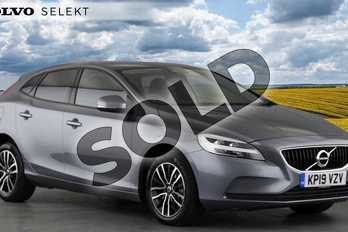Volvo V40 T2 (122) Momentum Nav Plus 5dr Geartronic in 714 Osmium Grey at Listers Volvo Worcester