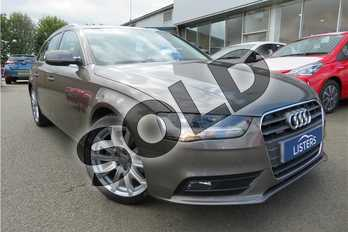 Audi A4 Diesel 2.0 TDI 177 Quattro SE Technik 5dr S Tronic in Metallic - Monsoon grey at Listers Toyota Grantham