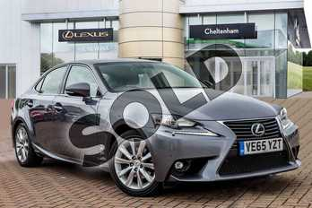 Lexus IS 300h Executive Edition 4dr CVT Auto in Mercury Grey at Lexus Cheltenham