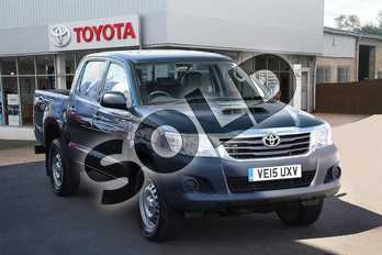 Toyota Hilux Diesel Active D/Cab Pick Up 2.5 D-4D 4WD 144 in Kielder Green at Listers Toyota Grantham