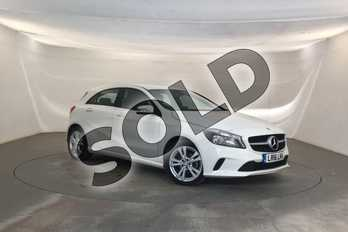 Mercedes-Benz A Class Diesel A180d Sport 5dr Auto in Cirrus White at Mercedes-Benz of Lincoln