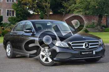 Mercedes-Benz E Class Diesel E220d SE 4dr 9G-Tronic in Obsidian Black Metallic at Mercedes-Benz of Lincoln