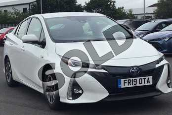 Toyota Prius 1.8 PHEV Excel 5dr CVT in White at Listers Toyota Lincoln