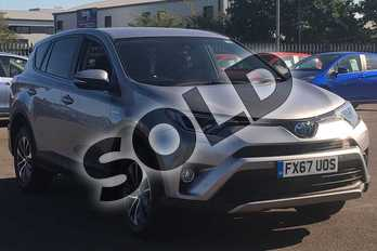 Toyota RAV4 2.5 VVT-i Hybrid Business Ed Plus TSS 5dr CVT 2WD in Silver at Listers Toyota Lincoln