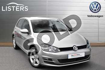 Volkswagen Golf Diesel 1.6 TDI 110 Match Edition 5dr in Tungsten Silver at Listers Volkswagen Evesham