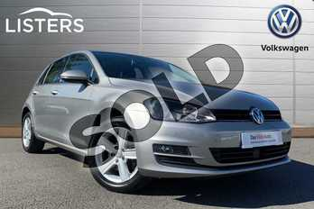 Volkswagen Golf Diesel 1.6 TDI 110 Match 5dr in Tungsten Silver at Listers Volkswagen Stratford-upon-Avon