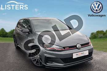 Volkswagen Golf 2.0 TSI 290 GTI TCR 3dr DSG in Pure Grey at Listers Volkswagen Worcester