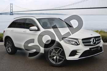 Mercedes-Benz GLC Diesel GLC 250d 4Matic AMG Line 5dr 9G-Tronic in polar white at Mercedes-Benz of Boston