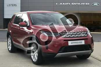 Land Rover Discovery Sport 2.0 D180 SE 5dr Auto in Firenze Red at Listers Land Rover Hereford