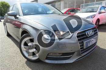 Audi A3 1.4 TFSI 140 Sport 5dr in Metallic - Monsoon grey at Listers Toyota Grantham