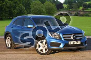 Mercedes-Benz GLA Class Diesel GLA 200 CDI 4Matic AMG Line 5dr Auto in South Seas Blue Metallic at Mercedes-Benz of Lincoln