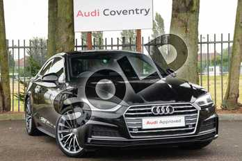 Audi A5 2.0 TFSI S Line 2dr in Myth Black Metallic at Coventry Audi