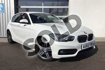 BMW 1 Series Diesel 118d Sport 5dr in Alpine White at Listers King's Lynn (BMW)