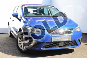 SEAT Ibiza 1.0 SE Technology 5dr in Blue at Listers SEAT Worcester