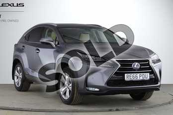 Lexus NX 300h 2.5 Premier 5dr CVT in Mercury Grey at Lexus Cheltenham