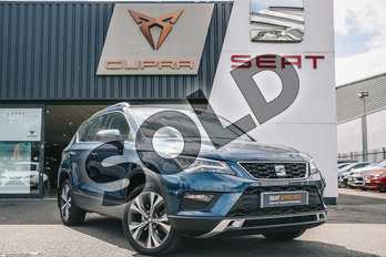 SEAT Ateca 1.0 TSI Ecomotive SE Technology 5dr in Blue at Listers SEAT Coventry