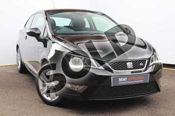 SEAT Ibiza Sport 1.2 TSI 110 FR Technology 3dr in Black at Listers SEAT Worcester