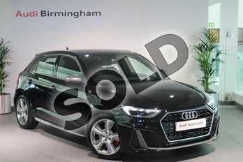 Audi A1 40 TFSI S Line Competition 5dr S Tronic in Myth Black Metallic at Birmingham Audi