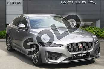 Jaguar XE Diesel 2.0d R-Dynamic SE 4dr Auto in Eiger Grey at Listers Jaguar Droitwich