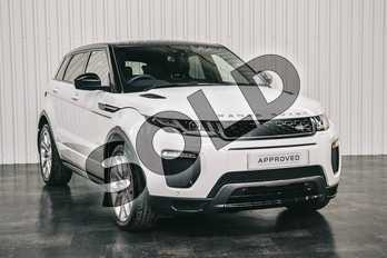 Range Rover Evoque Diesel 2.0 TD4 HSE Dynamic 5dr Auto in Fuji White at Listers Land Rover Solihull