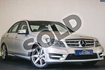 Mercedes-Benz C Class C180 BlueEFFICIENCY Sport Edition 125 4dr Auto in Metallic - Palladium silver at Listers U Stratford-upon-Avon