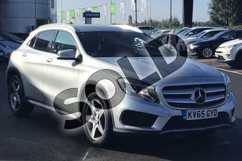 Mercedes-Benz GLA Class Diesel GLA 200 CDI AMG Line 5dr Auto in Polar Silver at Lexus Lincoln