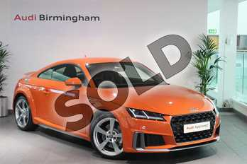Audi TT 45 TFSI S Line 2dr S Tronic in Pulse Orange at Birmingham Audi