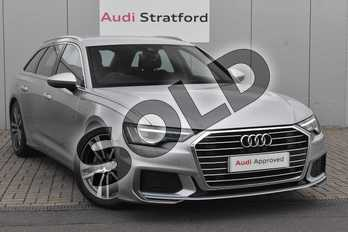 Audi A6 40 TDI S Line 5dr S Tronic in Floret Silver Metallic at Stratford Audi