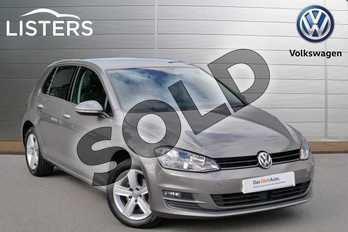 Volkswagen Golf 1.4 TSI Match 5dr DSG in Limestone Grey at Listers Volkswagen Evesham