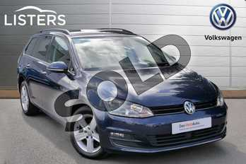 Volkswagen Golf Diesel 1.6 TDI 110 Match Edition 5dr in Night Blue at Listers Volkswagen Evesham