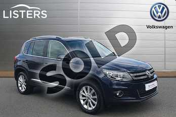 Volkswagen Tiguan Diesel 2.0 TDI BlueMotion Tech SE 5dr DSG in Night Blue at Listers Volkswagen Stratford-upon-Avon
