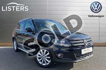 Volkswagen Tiguan Diesel 2.0 TDI BlueMotion Tech Match 4MOTION 5dr 150 DSG in Deep Black at Listers Volkswagen Stratford-upon-Avon