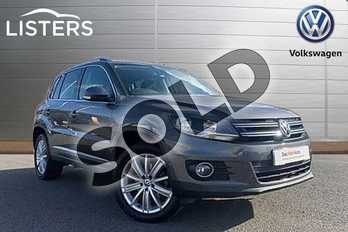 Volkswagen Tiguan Diesel 2.0 TDI BlueMotion Tech Match Edition 150 5dr in Grey at Listers Volkswagen Stratford-upon-Avon