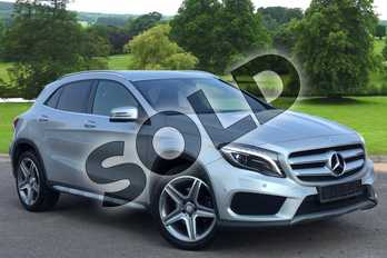 Mercedes-Benz GLA Class Diesel GLA 220d 4Matic AMG Line 5dr Auto (Premium) in Polar Silver Metallic at Mercedes-Benz of Grimsby